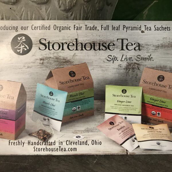 Storehouse Tea  -  Organic, Fair Trade