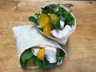 Mandarin Chicken Wrap
