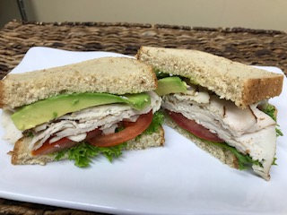 Turkey Avocado Sandwich